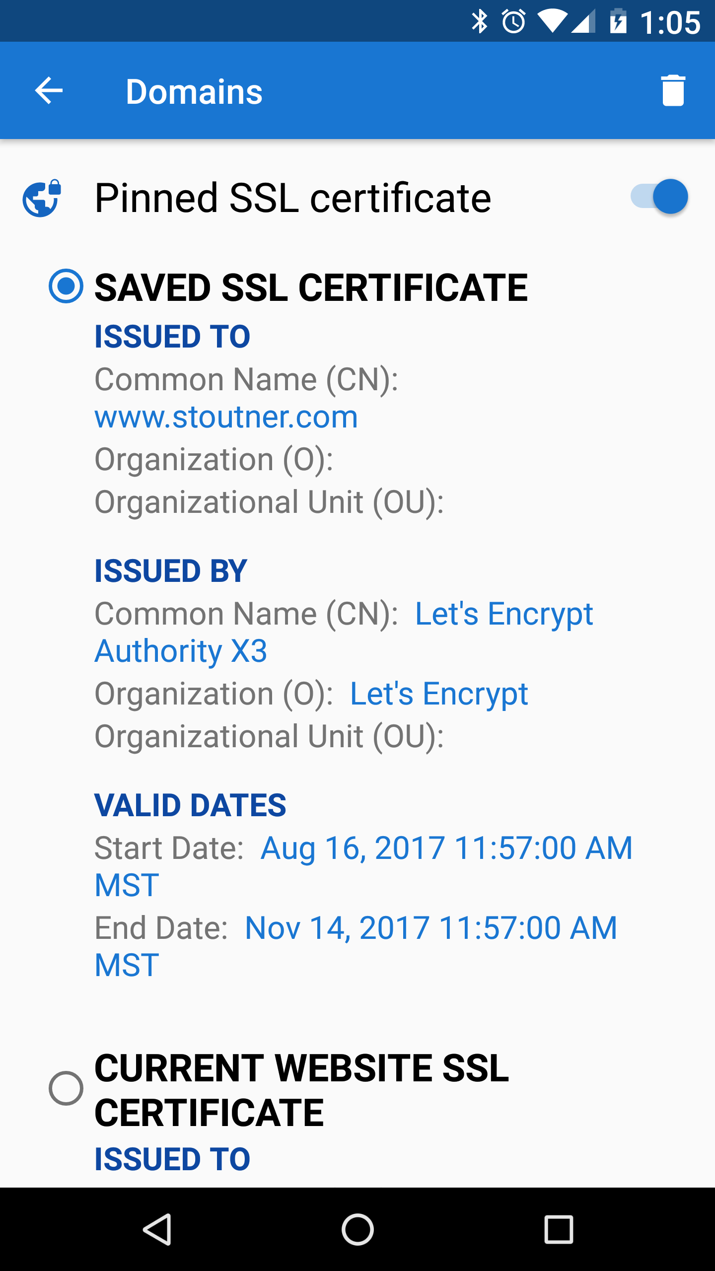 Privacy Browser 25 Stoutner